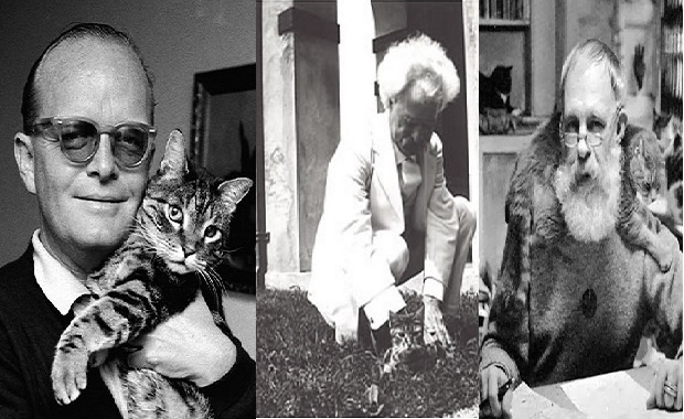 Which Literary Genius Had the Biggest Inner Cat Lady
