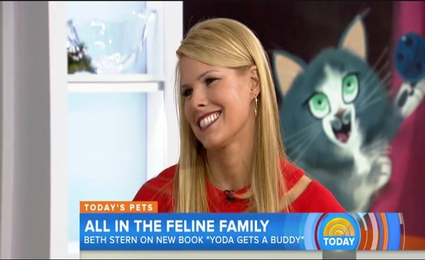 """Beth Stern, Howard Stern's wife says, """" When you foster cats, 'little miracles happen'"""