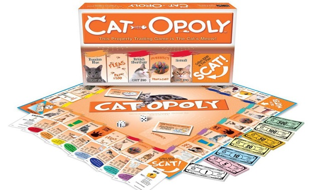 Cat-opoly is Monopoly for Cat People