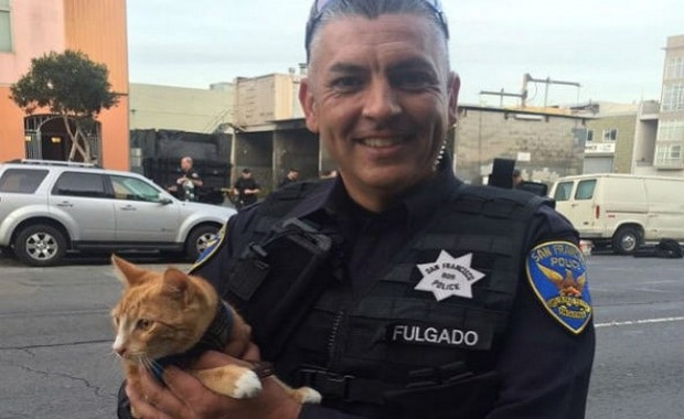 One Man's Love For His Cat Saves Him From Taking His Own Life