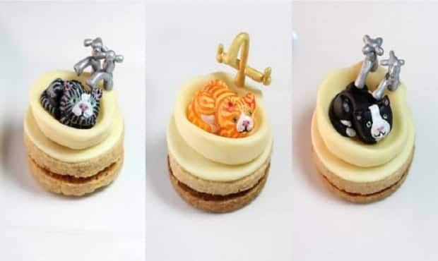 Some Of The Most Amazing Looking Desserts Honoring Cats (And They Look Yummy, too!)