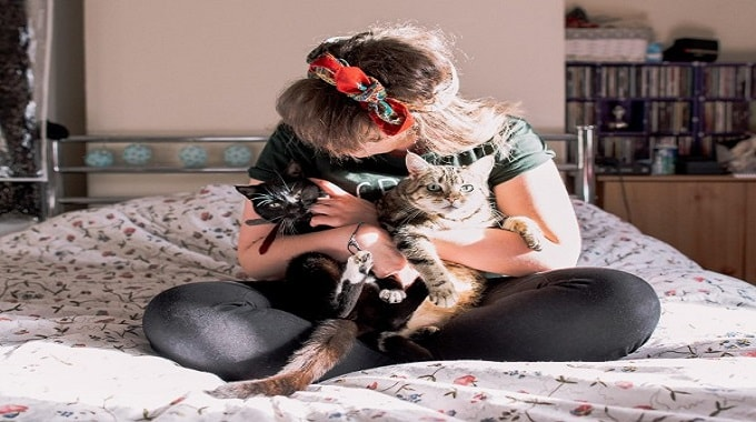 One Photographer's Mission to Break the Crazy Cat Lady Stereotype!
