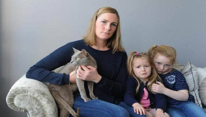 Sarah refused to pay when the caller failed to provide evidence he actually had her cat