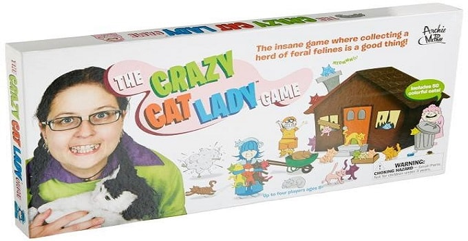 """Apparently, """"The Crazy Cat Lady Board Game"""" Is a Thing Now!"""