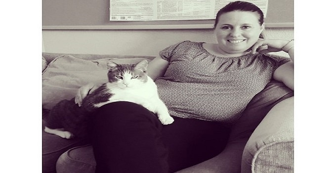 37-pound Cat 'Biggie' Loses Half His Body Weight
