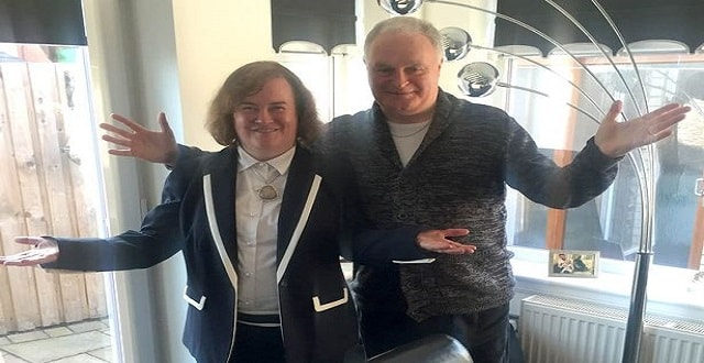 Susan Boyle and her brother Gerry