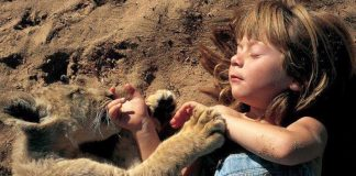 20 Mind Blowing Images Of The Little Girl Raised By Wild Animals!