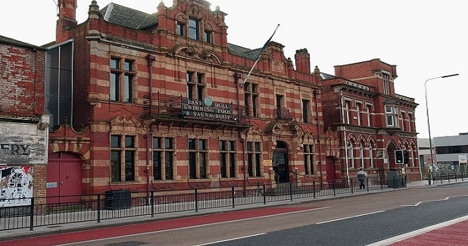 The attack took place near East Hull Baths.