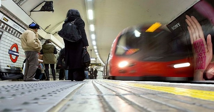 Three days on, Lucky remains missing after disappearing at the Underground station (file picture)
