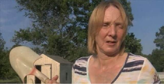 Woman Fights Off Neighbor's Dog Attacking Her Cat! - VIDEO!