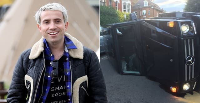 Nick Grimshaw in Car Accident After 'Swerving to Avoid a Cat'!