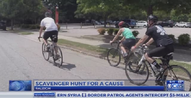 Bicyclists Raise Money for Cat Shelter During Scavenger Hunt in North Carolina!