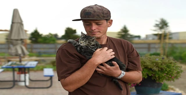 Inmates and Cats Tend to Garden at Boulder County Jail!