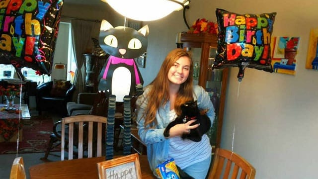 Cat Missing for Months Returns Home on Owner's Birthday!