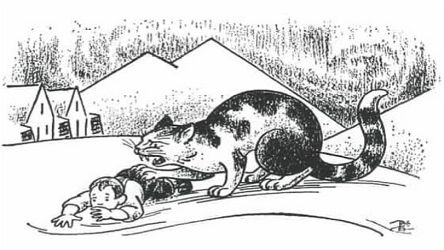 The Christmas Cat of Iceland – a Monster Cat that Gobbles Up Children If They're Bad!