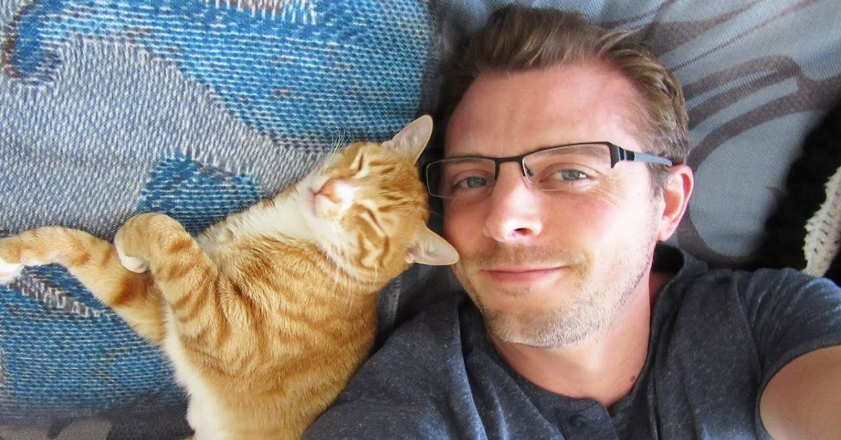 20+ Men Prove That Cat Dads Are Just Too Cool!