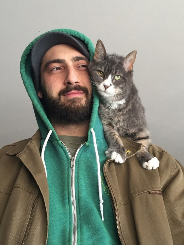 Cats Like To Sit On Shoulders 2