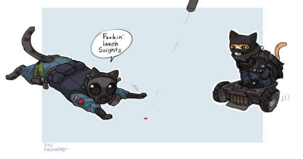 What An All-cat Swat Team Might Look Like – 8 Illustrations