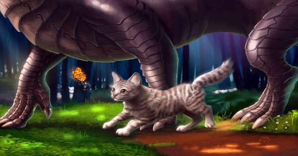 Story Of Just How Dragons Disappeared And The World Was Blessed With Cats!
