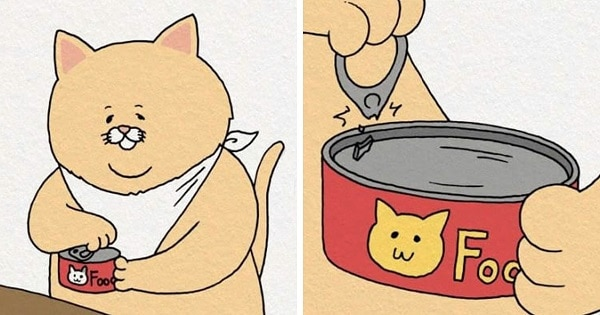 8 Hilarious Chubby Cat Food Fails That Are All Of Us - Like, Everyday!