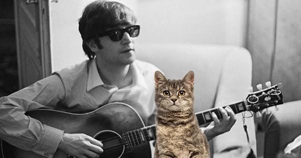 John Lennon – The 60s Version of the Crazy Cat Lady