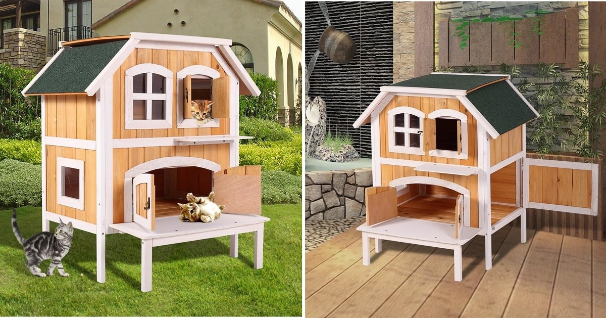 How to Build a Cool DIY Cat Play House