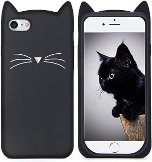 3D Party Cat Whiskers iPhone 6 Case