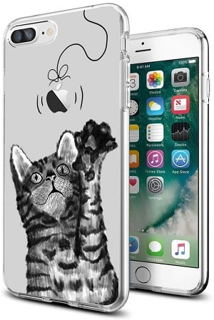 cocomong Vivid Cats Illustrated iPhone Case