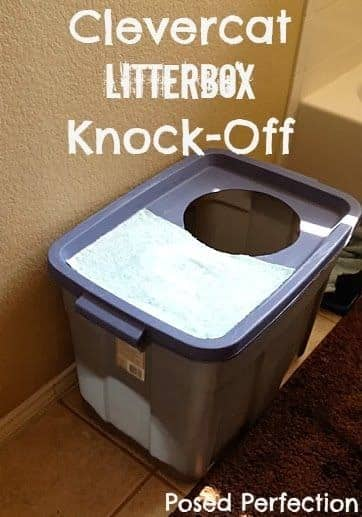 Make your own Clevercat litter box for cheap